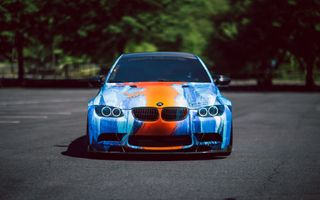 Colorful BMW M3