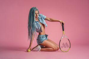 Бесплатные фото незнакомка с косичками,сексуальная девушка,beauty,сексуальная,молодая,богиня,киска