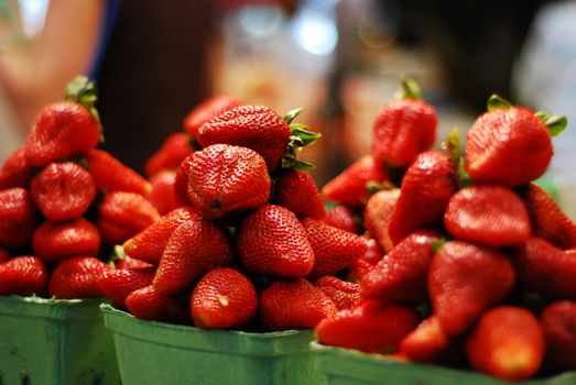 Photo free strawberry, fruit, food