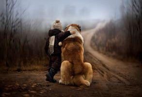 Фото бесплатно мальчик, ребенок, любовь