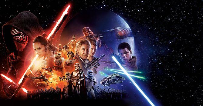 Photo free adventure, Star wars: the force awakens 2015, banner