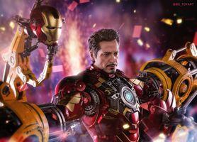 Заставки Железный человек, супергерои