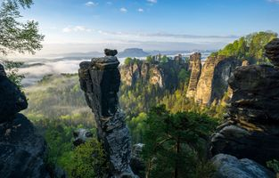 Photo free Wehlnadel, Saxon Switzerland National Park, Tourismusverband S chsische Schweiz e V Philipp Zieger