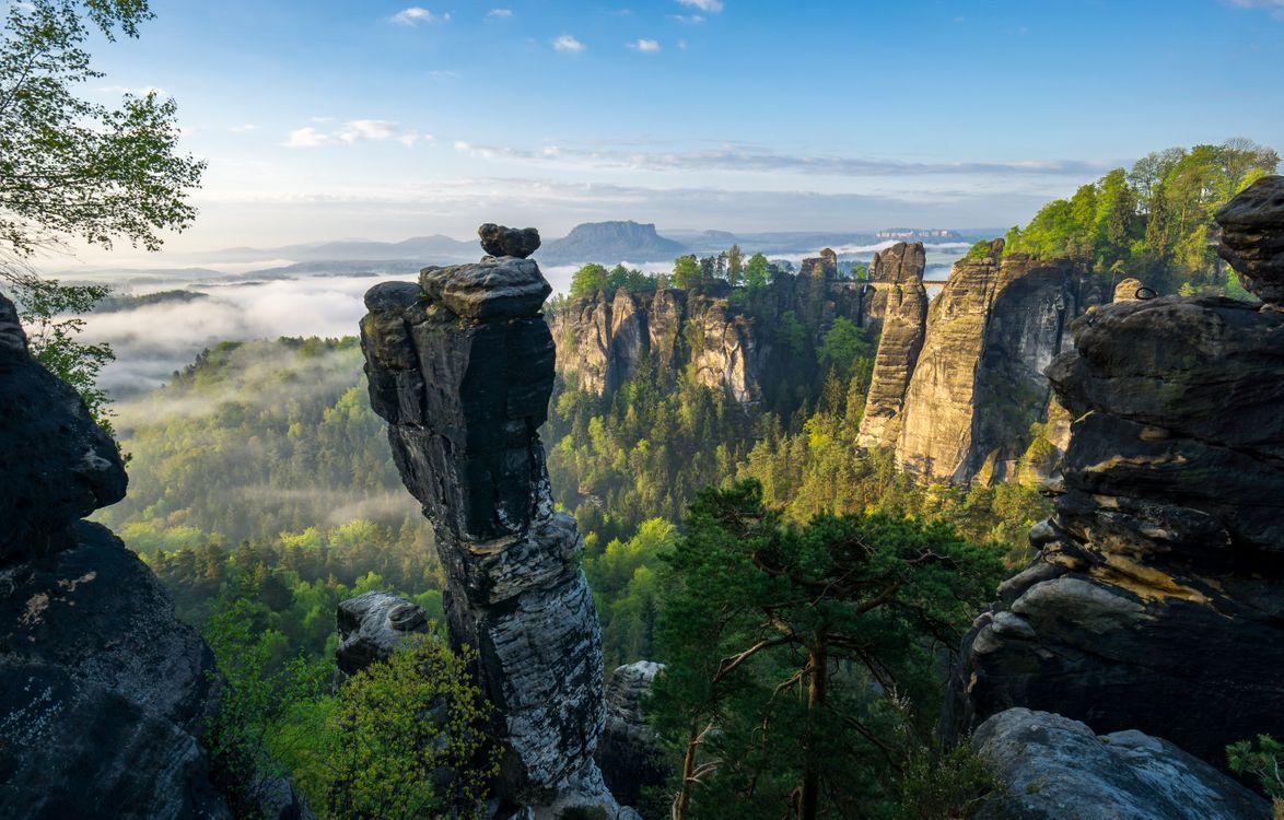 Фото бесплатно Wehlnadel, Saxon Switzerland National Park, Tourismusverband S chsische Schweiz e V Philipp Zieger - на рабочий стол