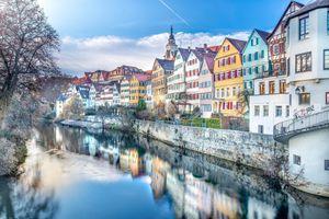 Фото бесплатно Германия, город, дома