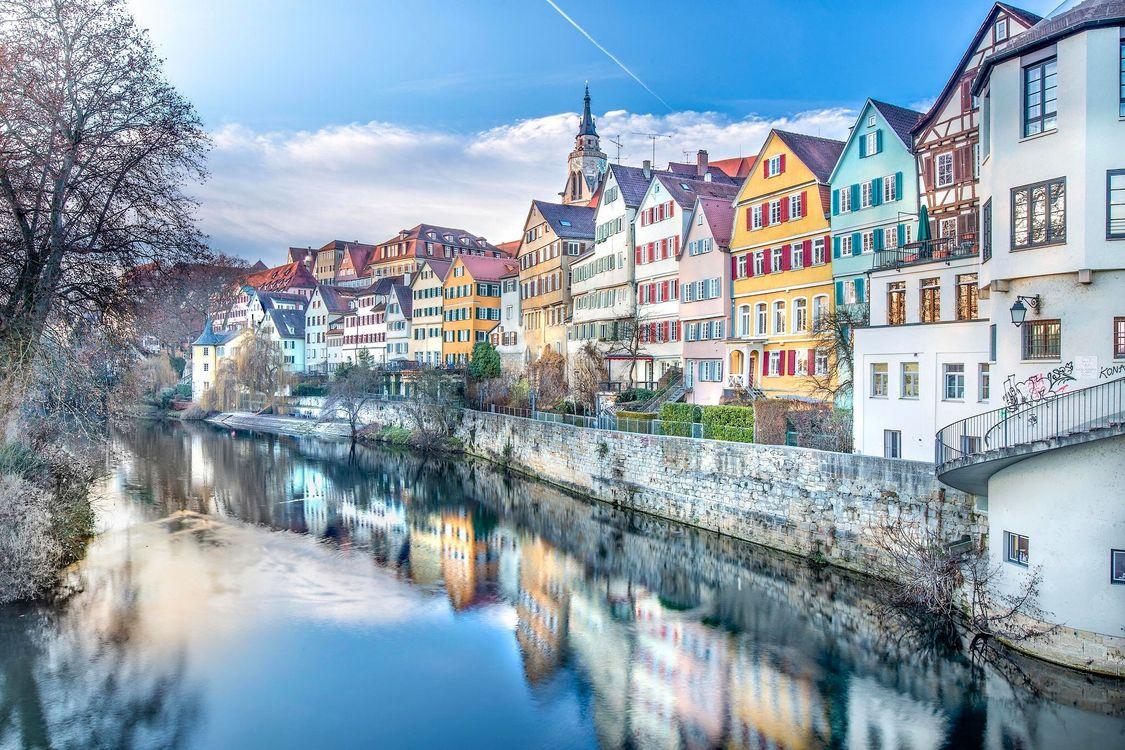 Фото бесплатно Германия, город, дома - на рабочий стол
