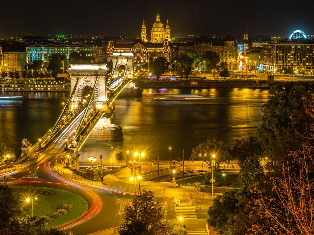 Красочный вечер в Будапеште · бесплатное фото