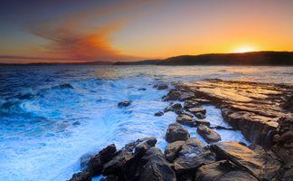 Заставки скалы, Peninsula Buddy, природа