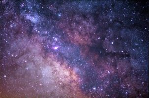 Фото бесплатно галактики, туманности, млечный путь