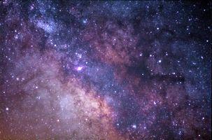 Photo free galaxy, nebula, milky way