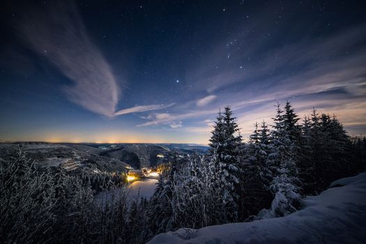 Photo free Stars Above, winter, Mummelsee