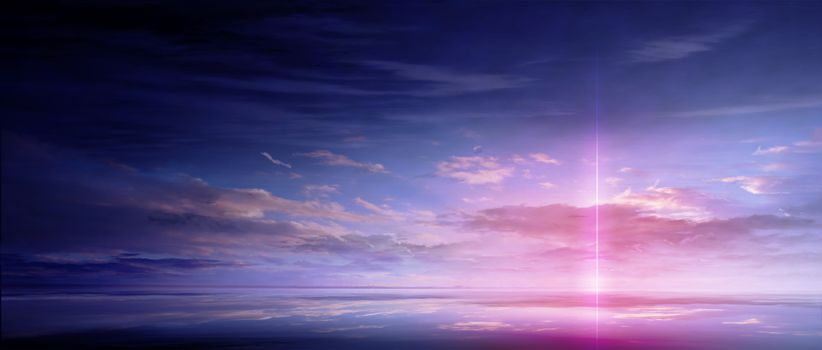 Фото бесплатно аниме, красиво, облака