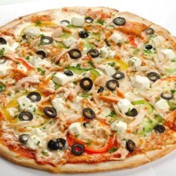 Фото бесплатно пицца, тесто, маслины