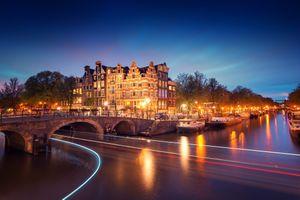 Фото бесплатно освещение, Нидерланды, огни