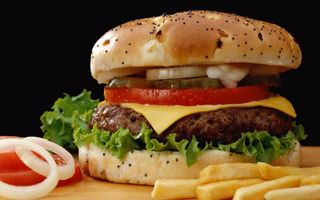 Фото бесплатно хлеб, чизбургеры, еда