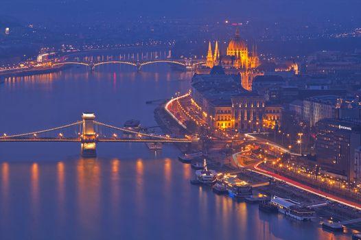 Фото бесплатно Будапешт, Венгрия, мосты