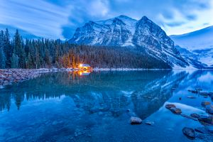 Photo free Lake Louise, Banff National Park, Canada