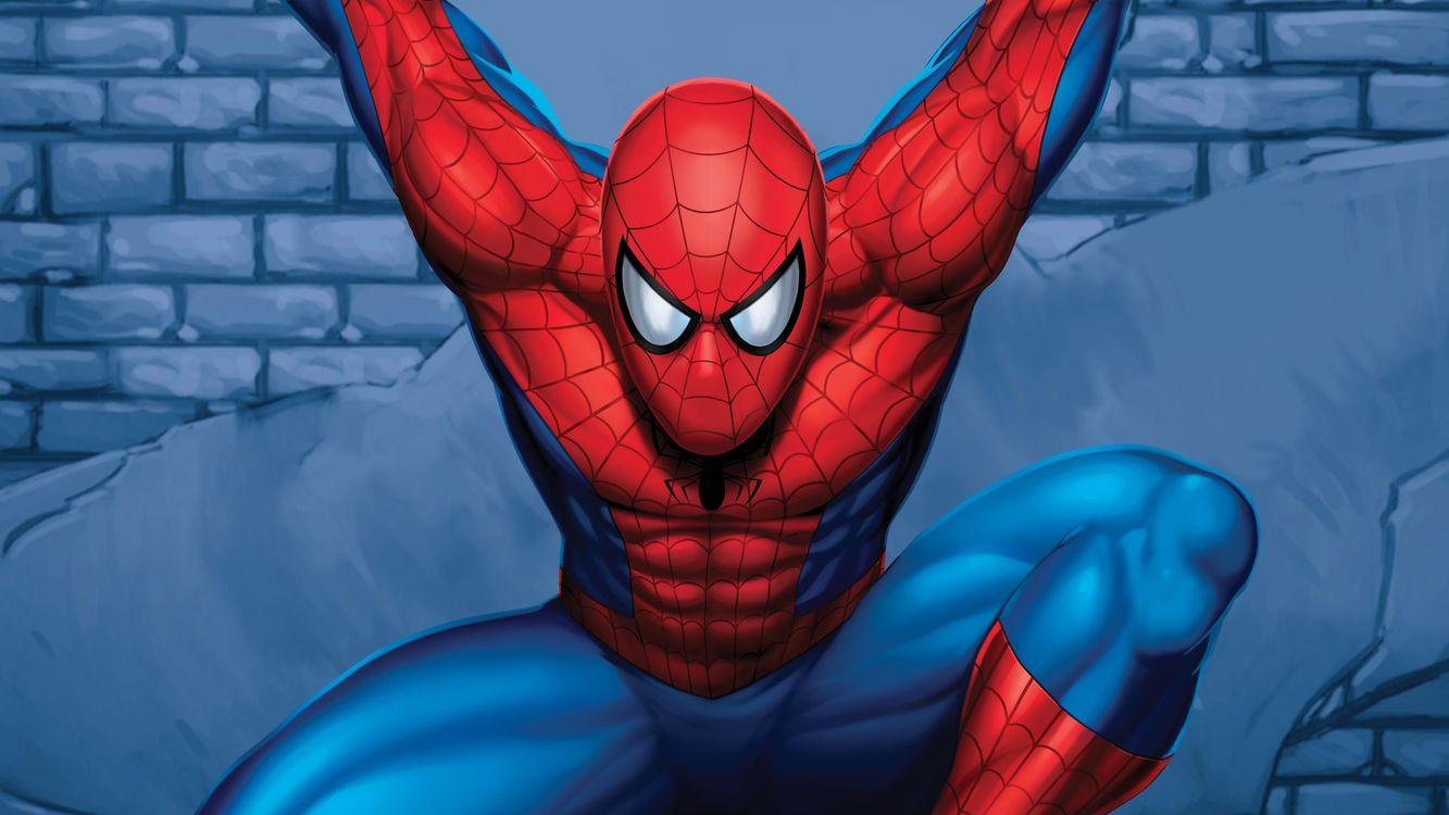 Обои на аву человек паук