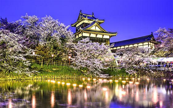 Photo free Spring, Koriyama, Japan