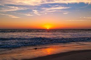 Фото бесплатно волны, пляж, природа