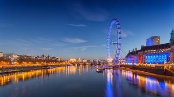 Колесо обозрения в Лондоне · бесплатное фото