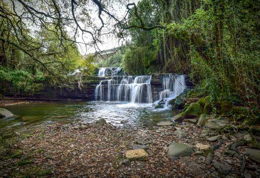 Photo free waterfall, rocks, flow