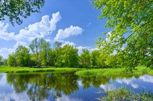 Фото бесплатно красота, облака, земля