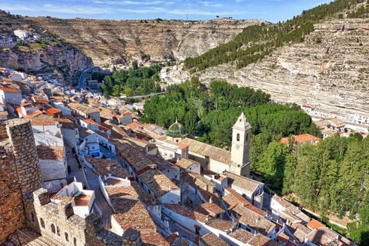 Photo free Spain, Alcala del Jucar, buildings
