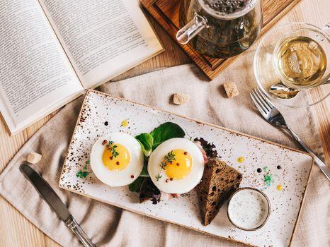 Заставки завтрак, тарелка, бутерброды