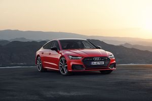 Red Audi A7 · free photo