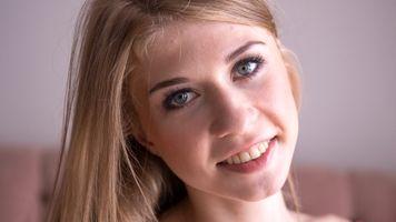 Photo free Eva gold, face, blonde