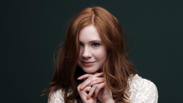Photo free Karen Gillan, redhead, celebrity