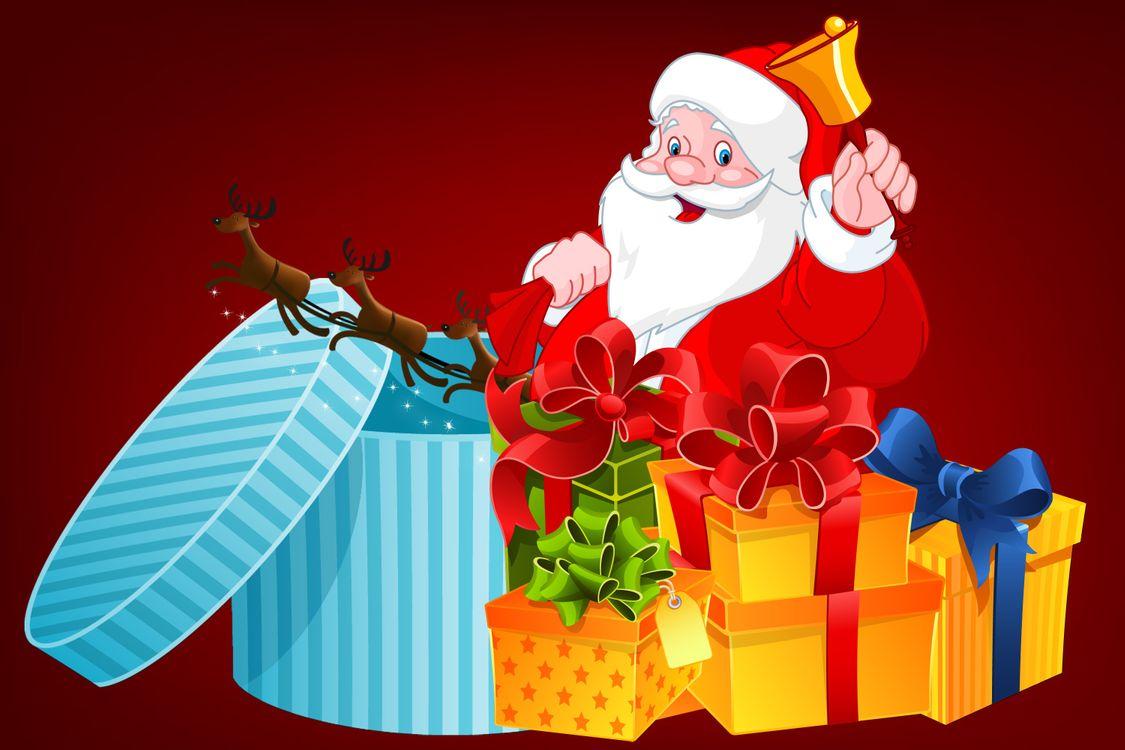 Фото бесплатно Рождественские украшения, дизайн, Санта-Клаус - на рабочий стол