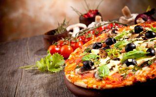 Заставки фаст-фуд, пицца, соус