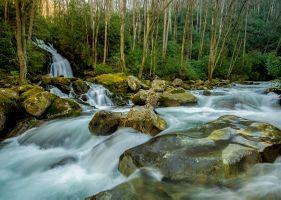 Photo free North Carolina, waterfall, nature