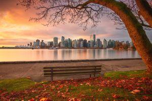 Фото бесплатно Stanley Park, Vancouver, осень