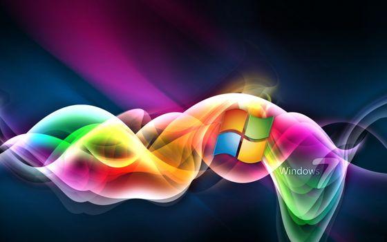 Фото бесплатно для Windows 7, красочный, логотип