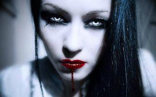 Фото бесплатно женщина, красота, кровь