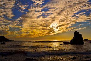 Бесплатные фото Sonoma Coast State Park,State of California,sea,summer,sunset,beach,seaside