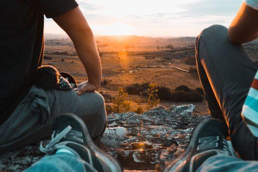 Бесплатные фото закат солнца,солнце,рыжих,оранжевый,обувь,домашние тапочки,сельская местность,поле,небо,утро,отпуск,весело