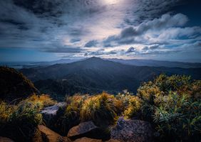 Бесплатные фото горы,закат солнца,сумерки,небо,облака,камни,природа