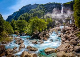Бесплатные фото Foroglio,Valle Maggia,Ticino,Switzerland,горы,камни,река
