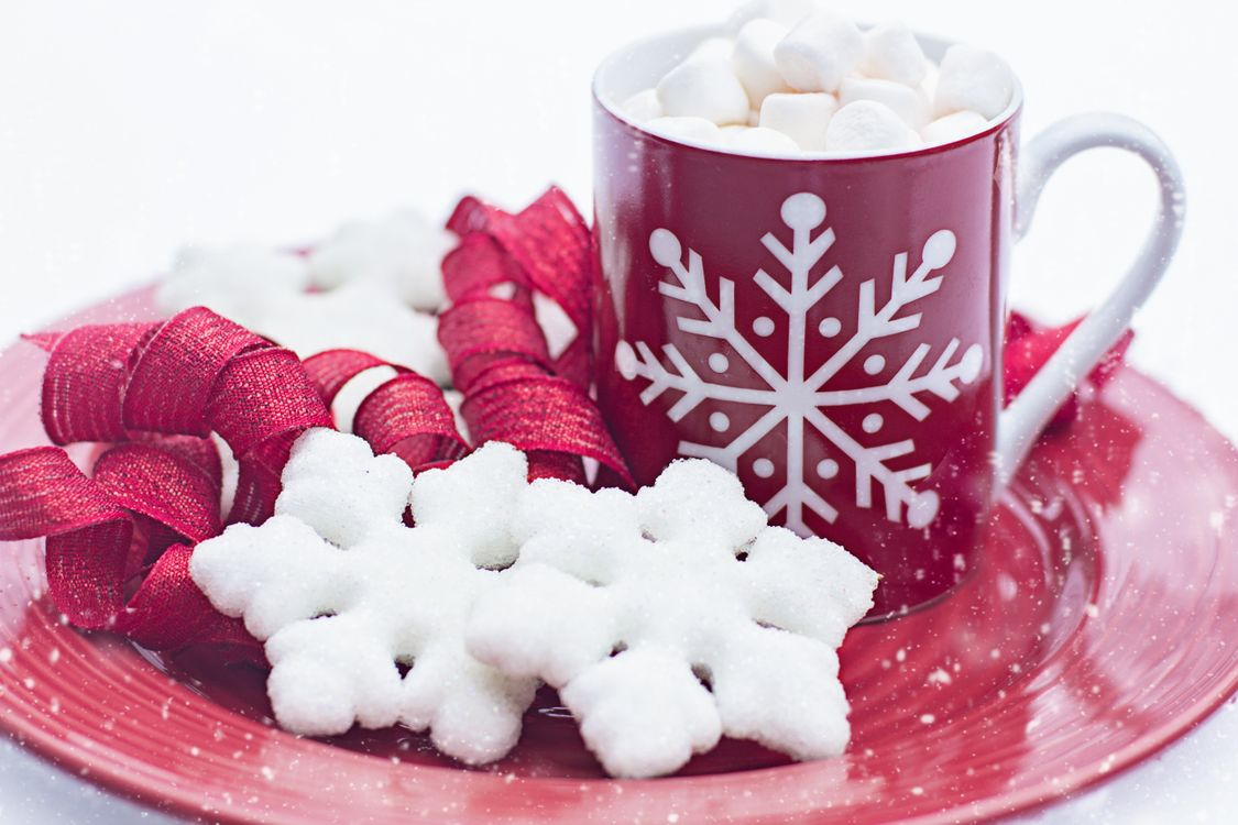 Фото бесплатно зефир, чашка, десерт - на рабочий стол