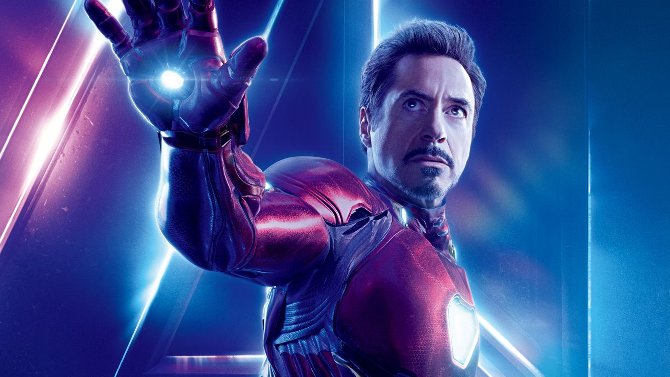 Тони Старк - Железный Человек · бесплатное фото
