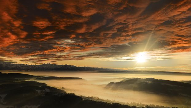 Photo free clouds, fog, mountains