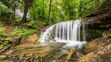 Фото бесплатно Weavers Creek Falls, Harrison Park, Оуэн-Саунд