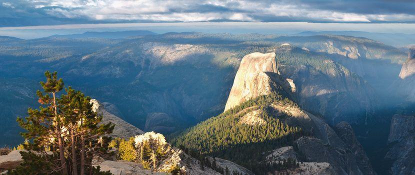 Фото бесплатно леса, пейзажи, долина
