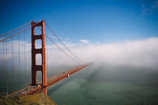 Photo free beach, blue, bridge