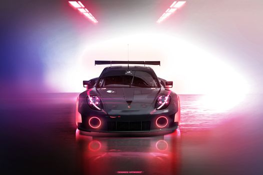 Фото бесплатно Porsche 918, Porsche, Автомобили