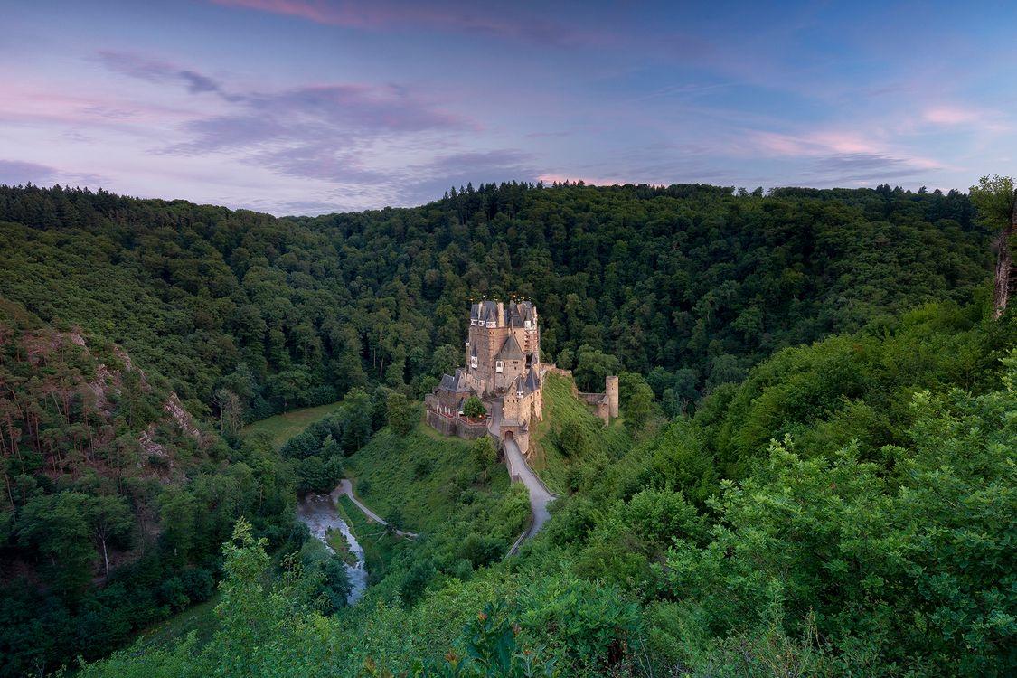 Фото бесплатно Замок Эльц, Burg Eltz, Германия - на рабочий стол
